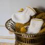 Trousseau de naissance moutarde