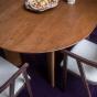 Table de salle à manger ronde Carlotta Alta - 4 places