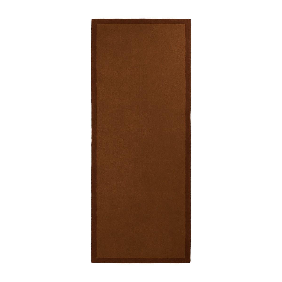 Tapis de couloir Luna chocolat