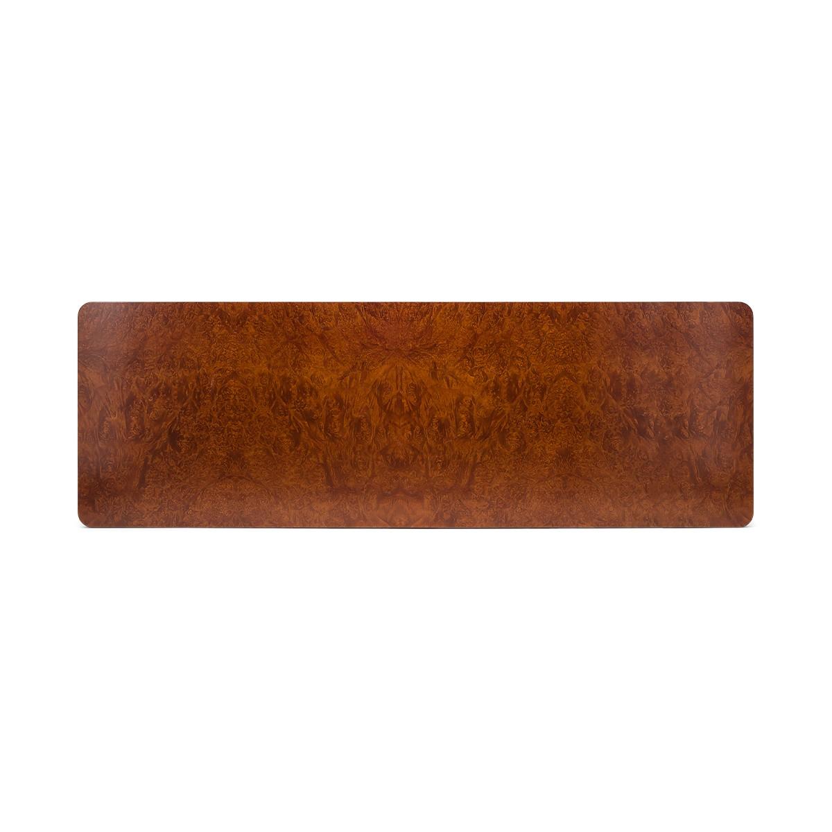 Tête de lit Renato en loupe d'orme 190 cm
