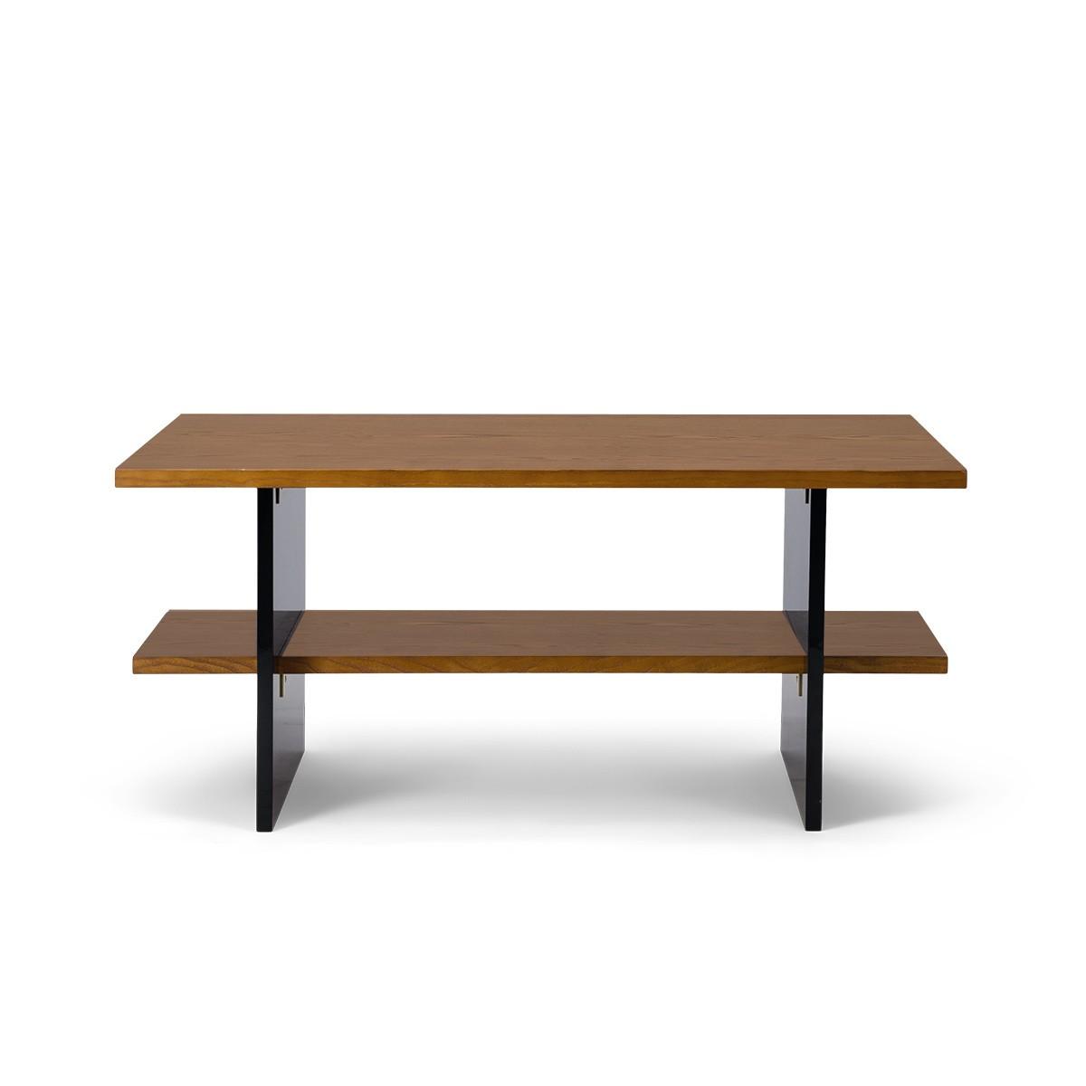 Table basse Orso finition iroko