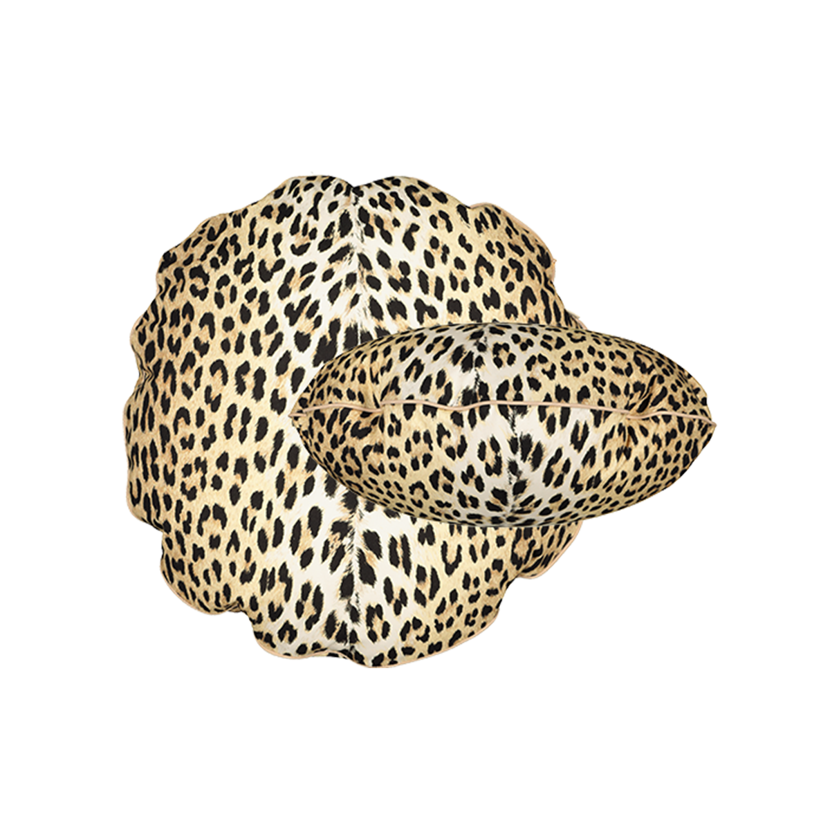 Coussin Bomboloni imprime panthere